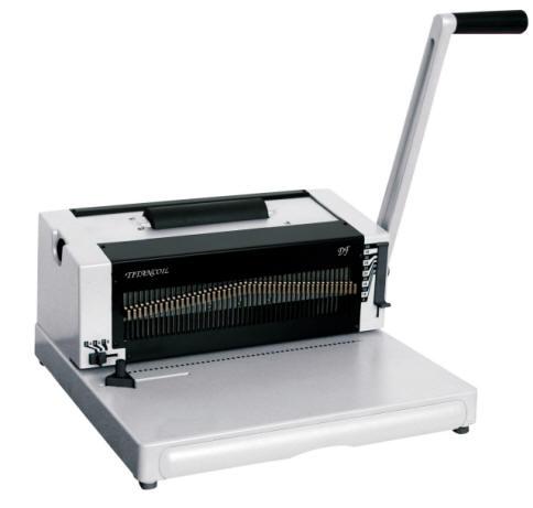 metal coil binding machine
